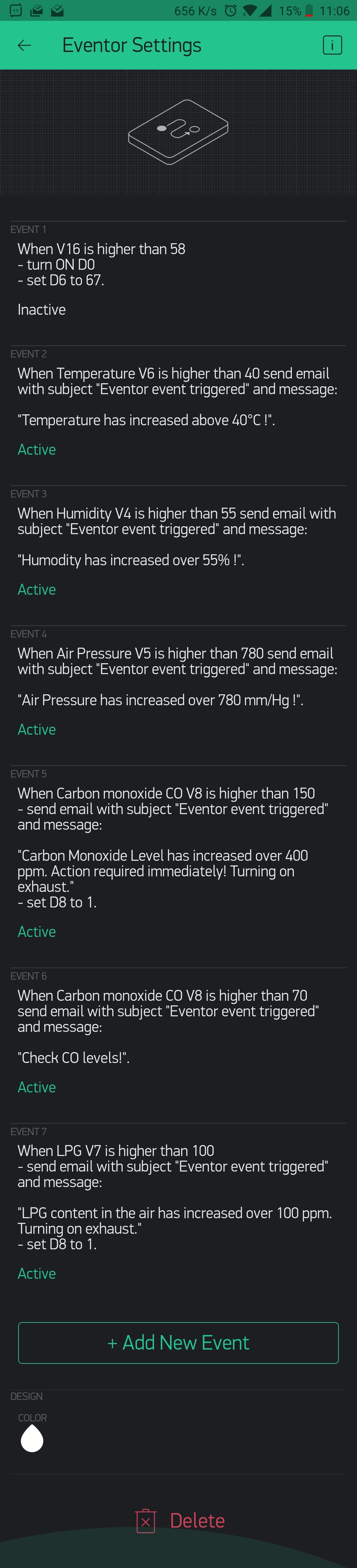 Conditions for Notification