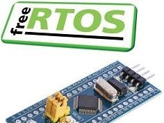 FreeRTOS on STM32F103C8T6