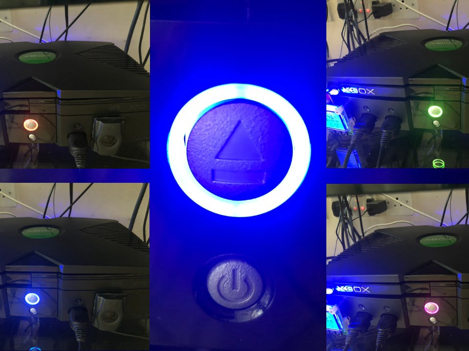 Original Xbox RGB RingMod | Arduino