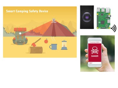 Walabot Powered Smart Camping Safety Device