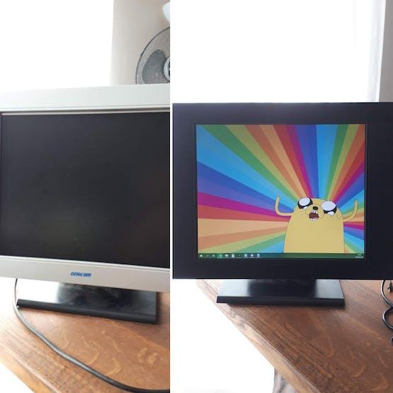 Screen transformation!