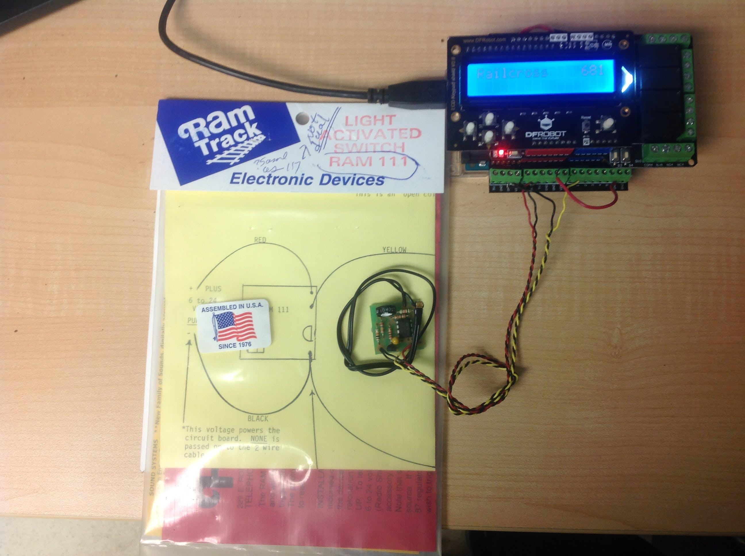 Ram track 111 sensor