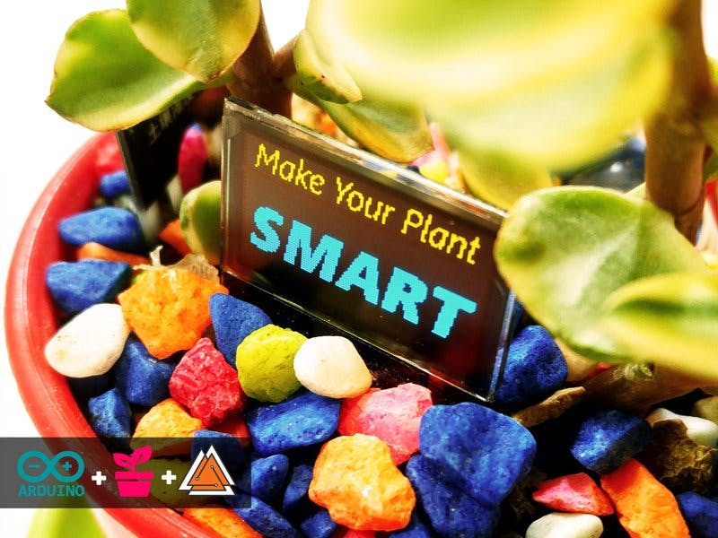 Make Your Plant SMART! By Arduino