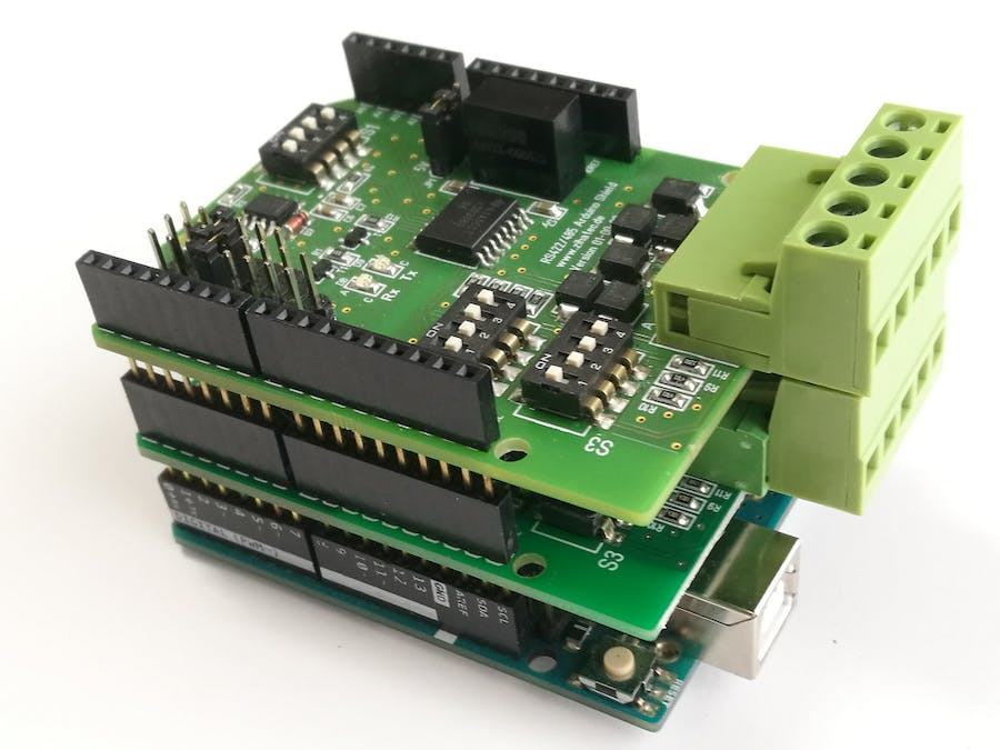 Up to Three RS485 Busses on One Arduino