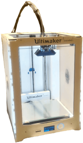 Fig. 9 - Ultimaker 2+ Extended, at iStartLab (IST, University of Lisbon).