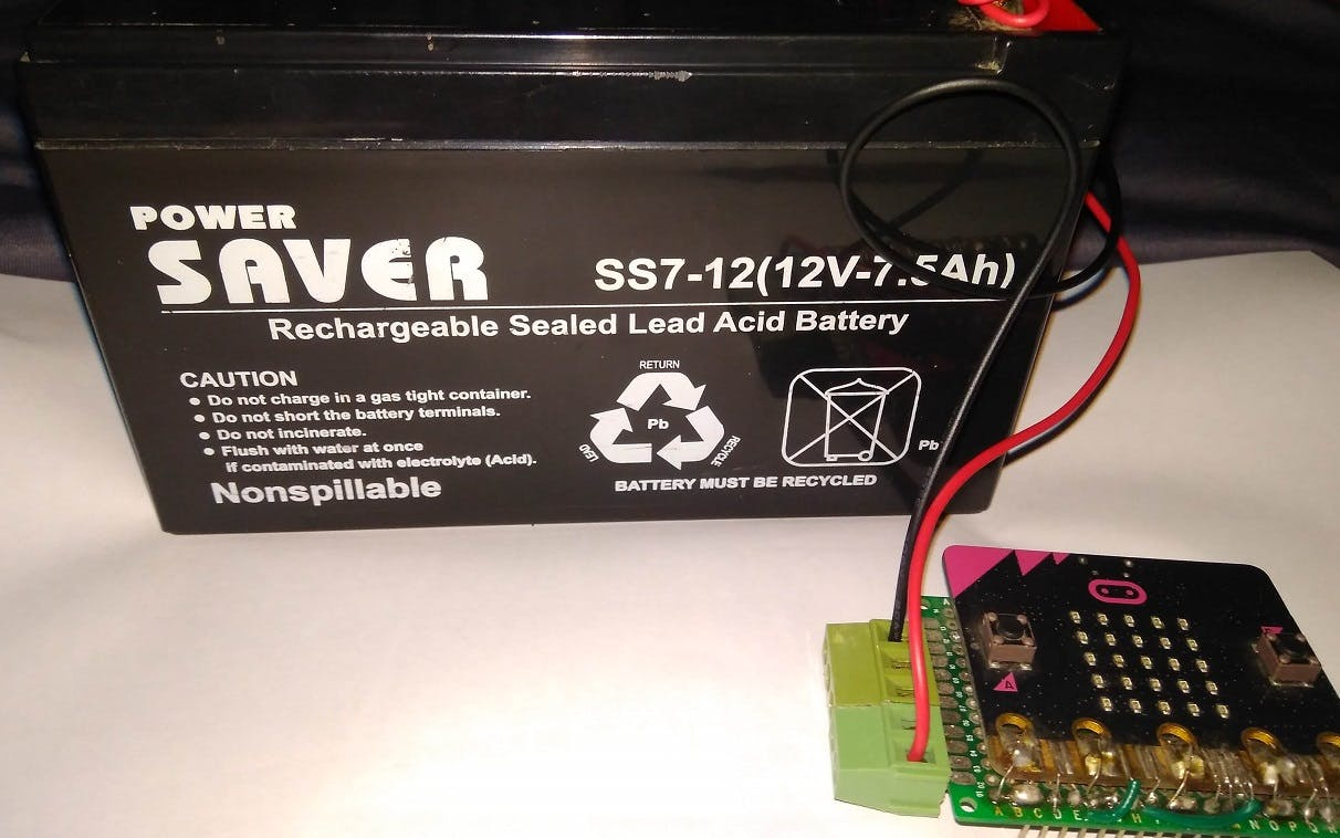 Battery voltage monitoring from Cloud