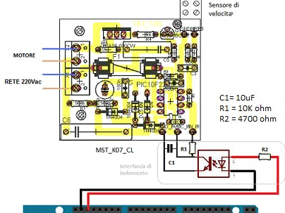 Control a 220VAC Universal AC Motor with Arduino