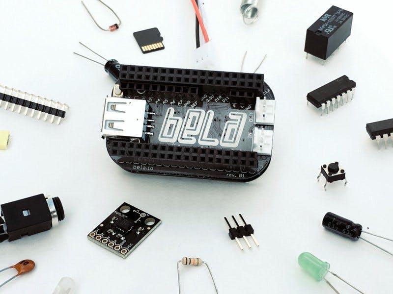 Bela: Low-Latency Audio + Sensor Cape for PocketBeagle