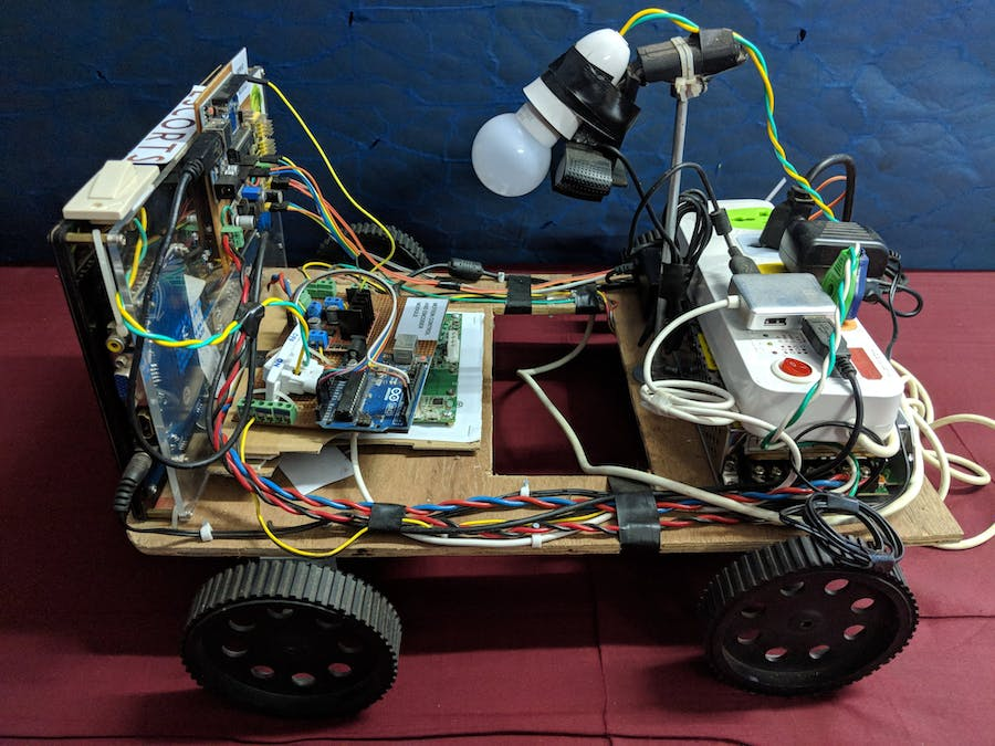 Autonomous Weed Removal Robot