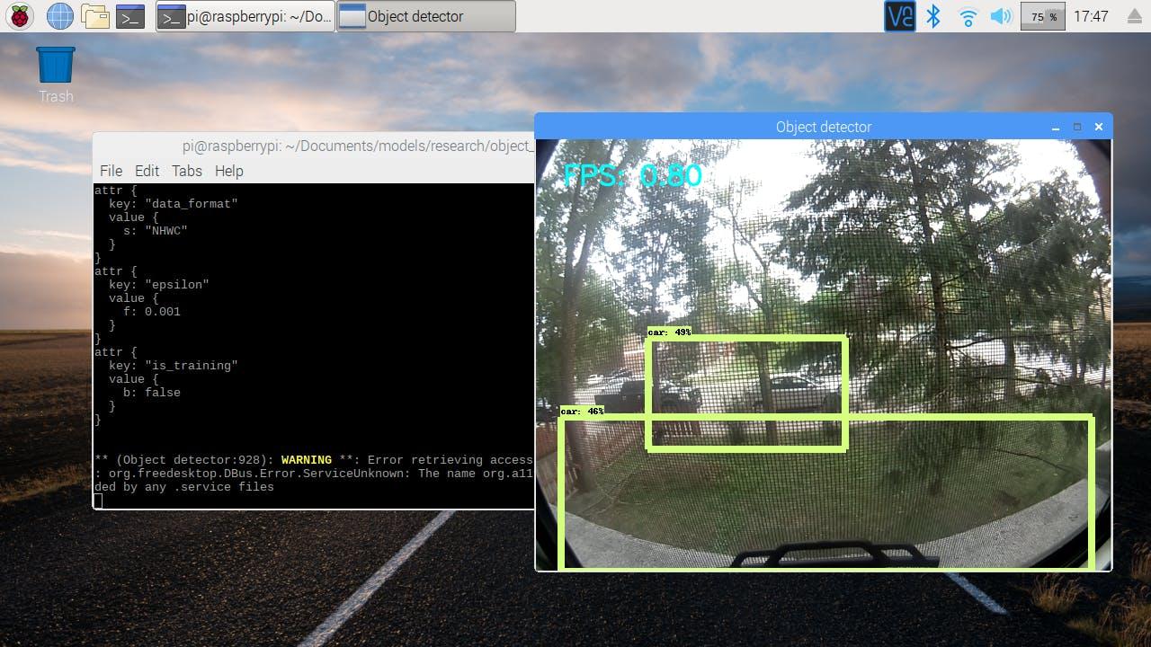 Detecting cars