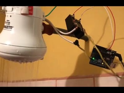 PID Control of a 110V Shower Using Arduino