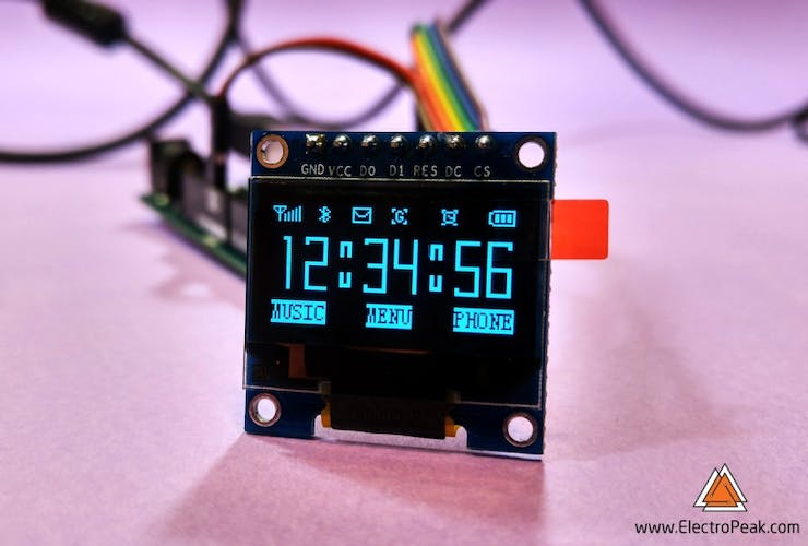 Beginner's Guide to Display Text, Image & Animation on OLEDs
