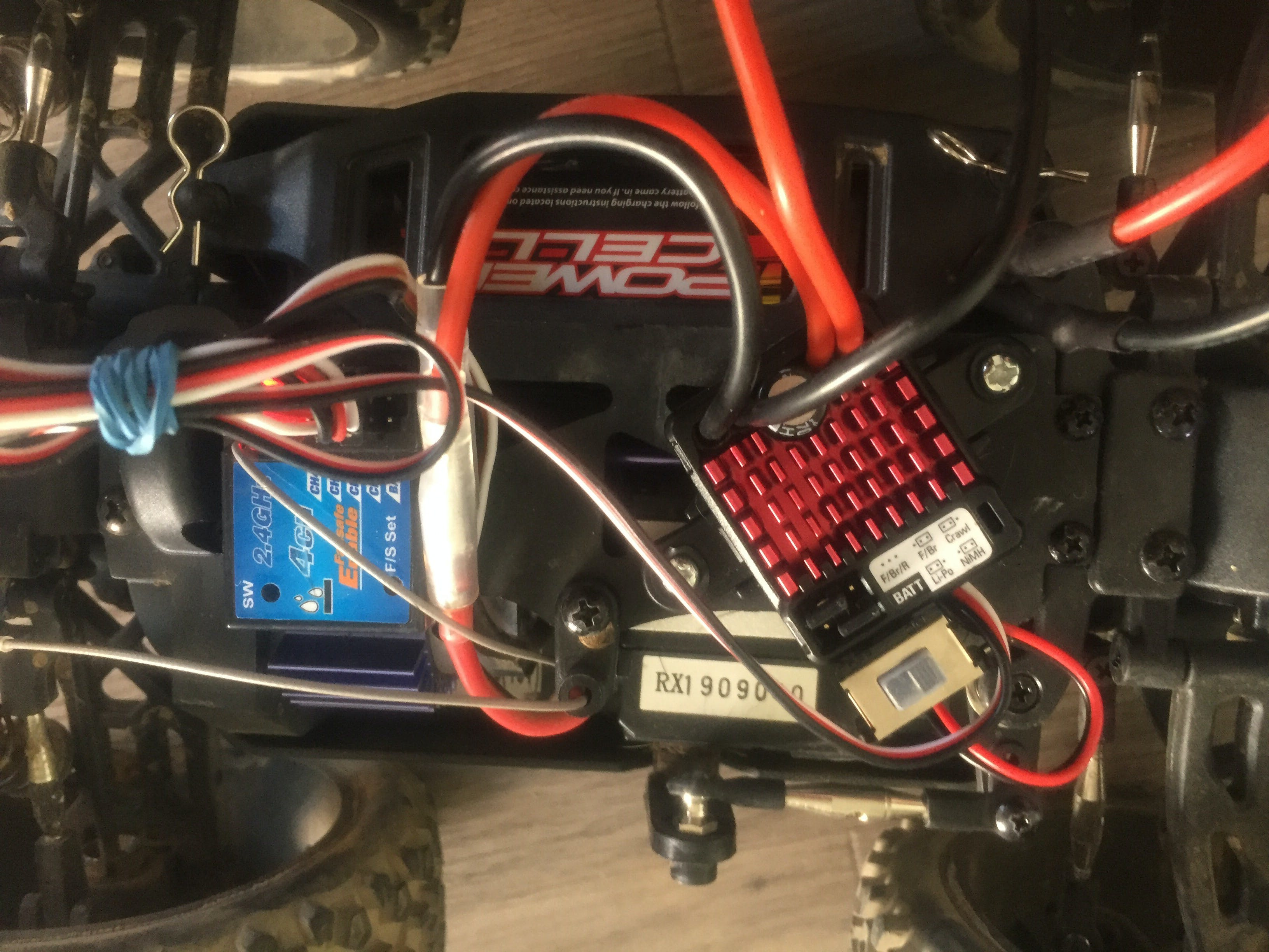 ECU upgrade makes reverse easier with PS3 six axis controller