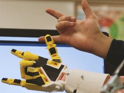 3D-Printed EEG-Controlled Prosthetic Arm