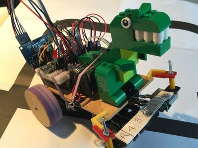 Maze Solver Robot, using Artificial Intelligence