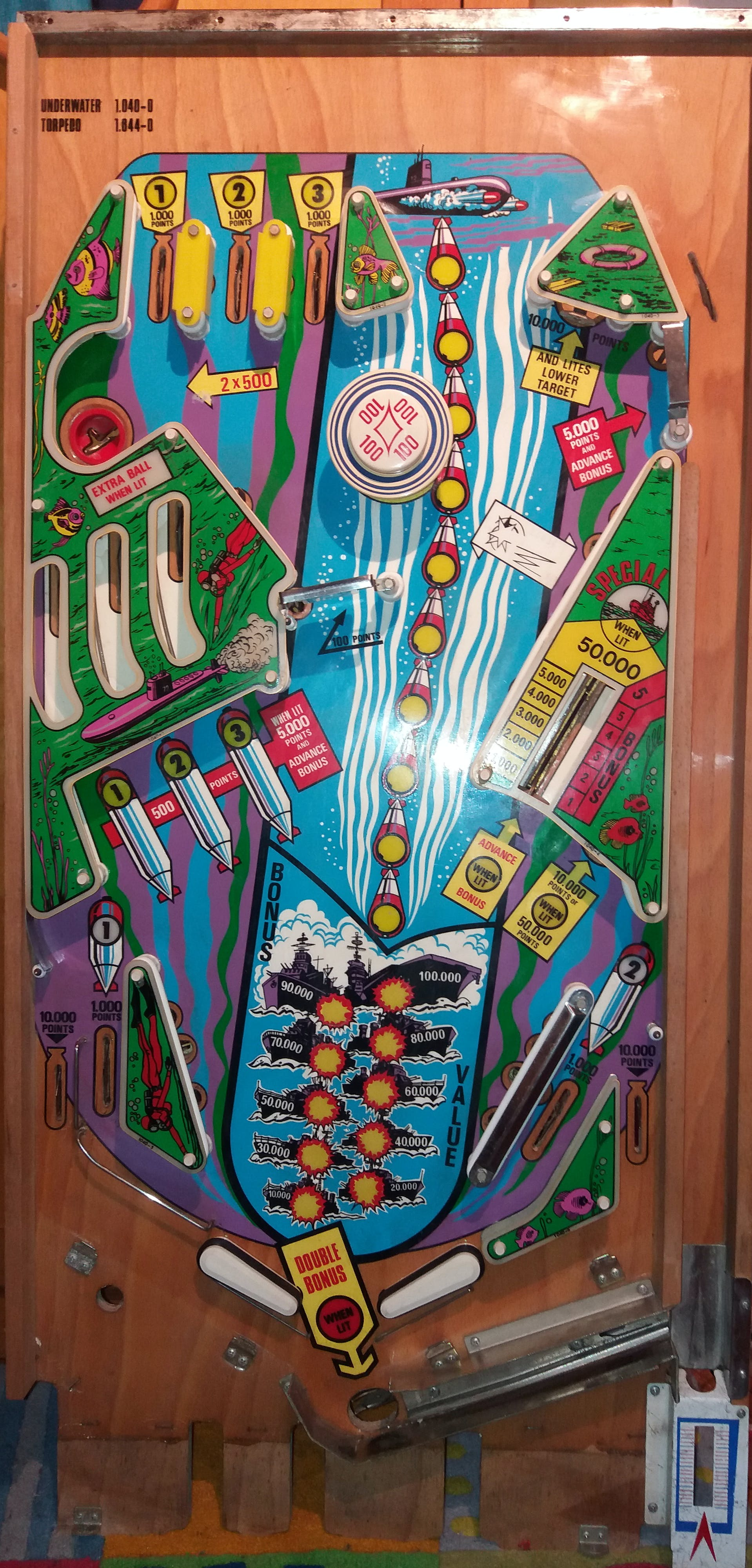 Old playfield