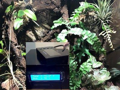 Vivarium Monitor and Controller