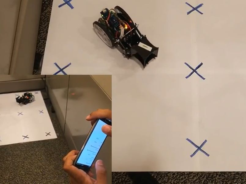 Use Your Android Phone as Remote Control for Your Rover
