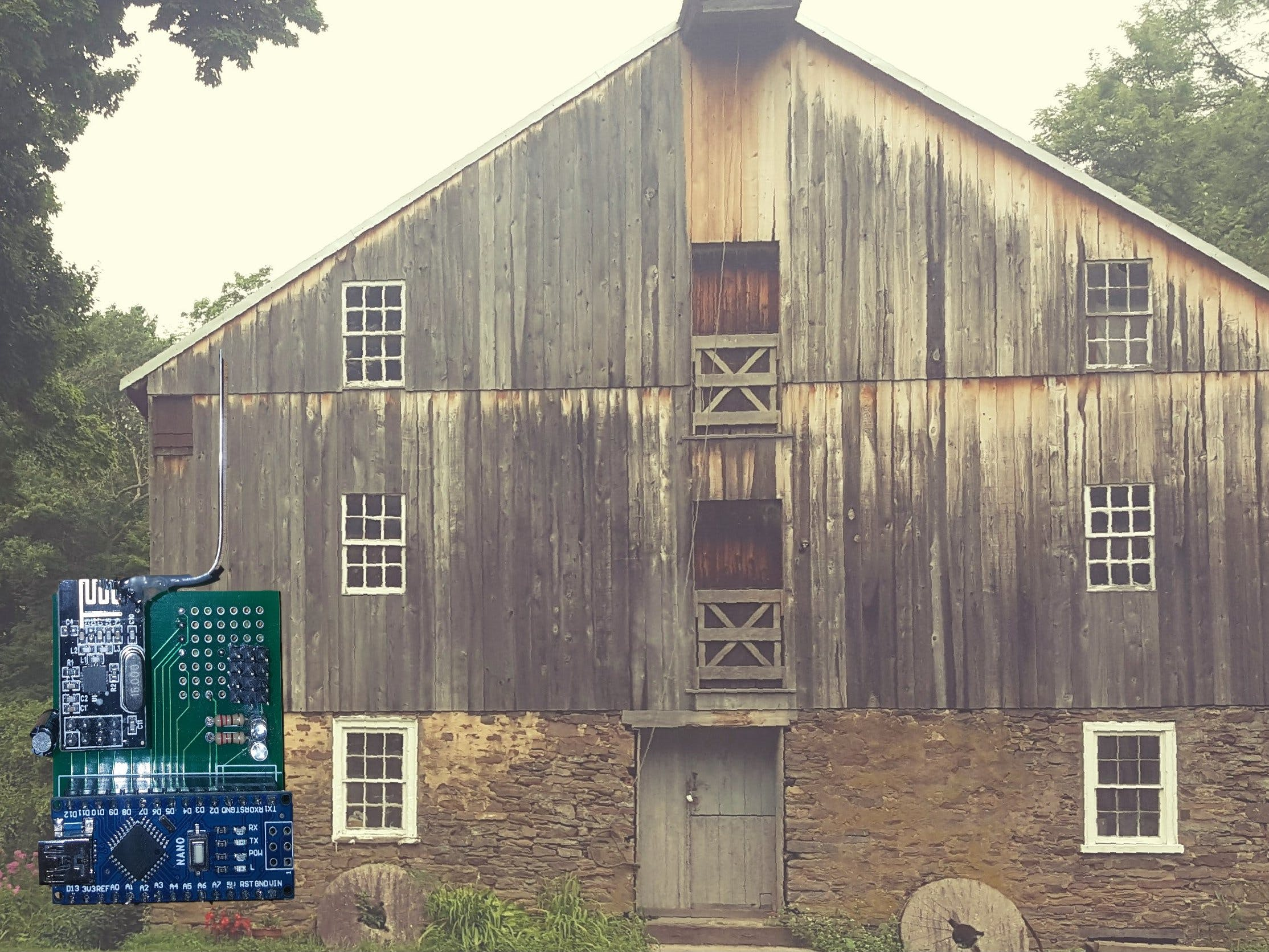 Building a Sensor Network for an 18th Century Gristmill
