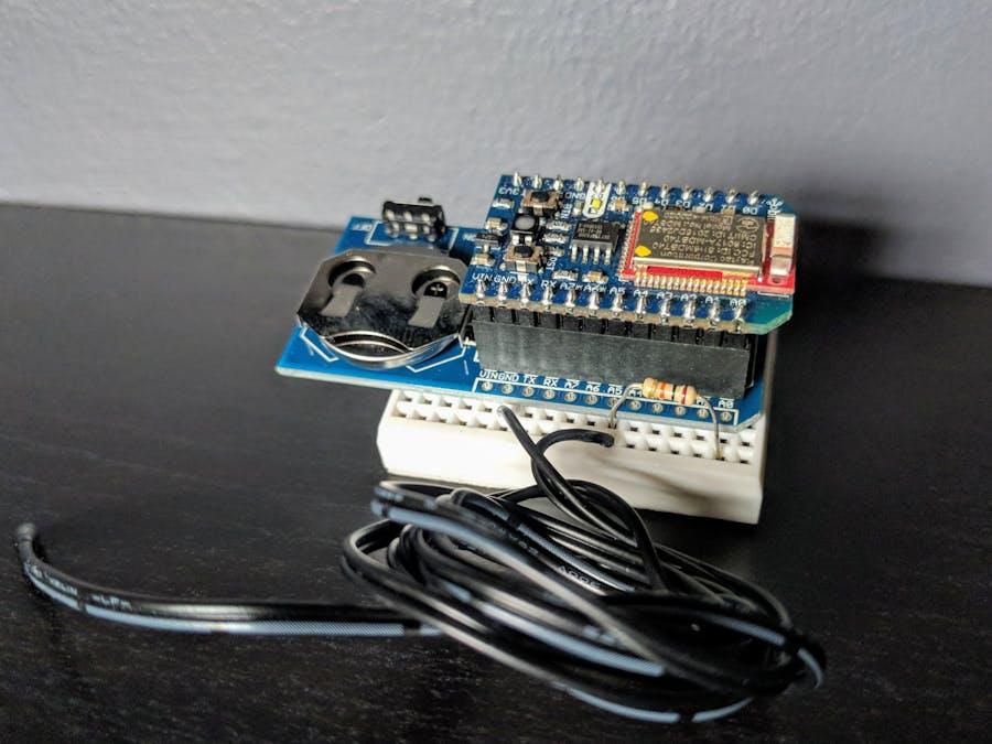 Bluz Wireless Temperature Sensor