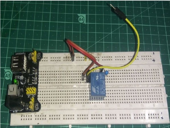 DIY Relay Module Using BC547 and Relay Only