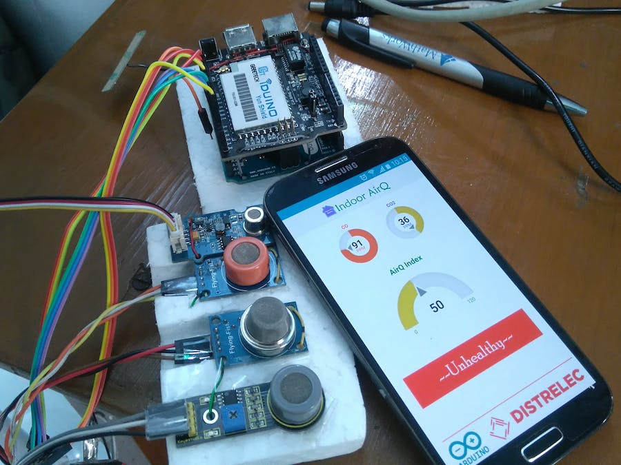 Indoor Air Quality Monitoring System - Hackster io