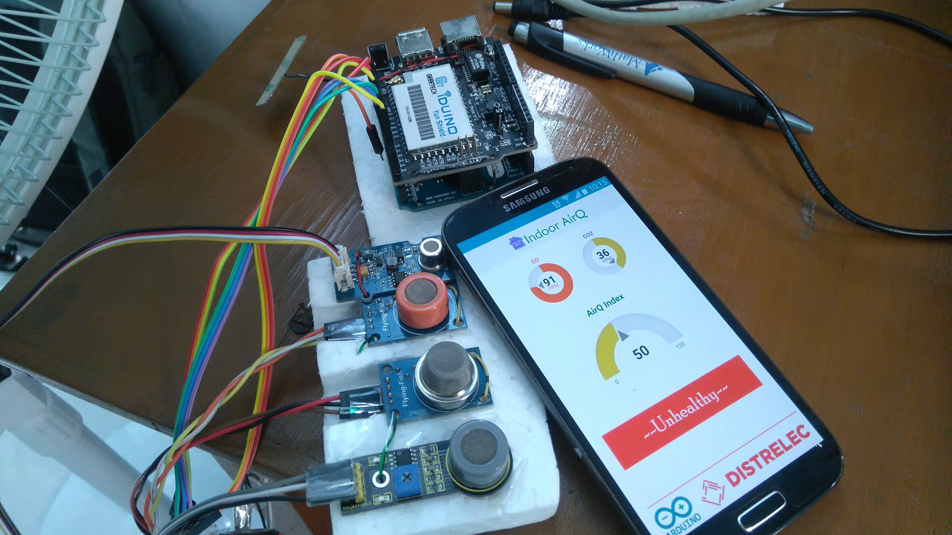 Device and mobile application