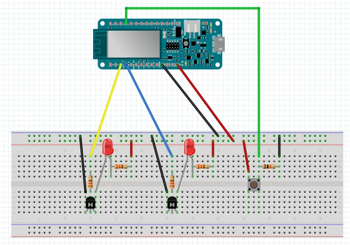 Pick to Light Project 2 WiFi - Hackster io
