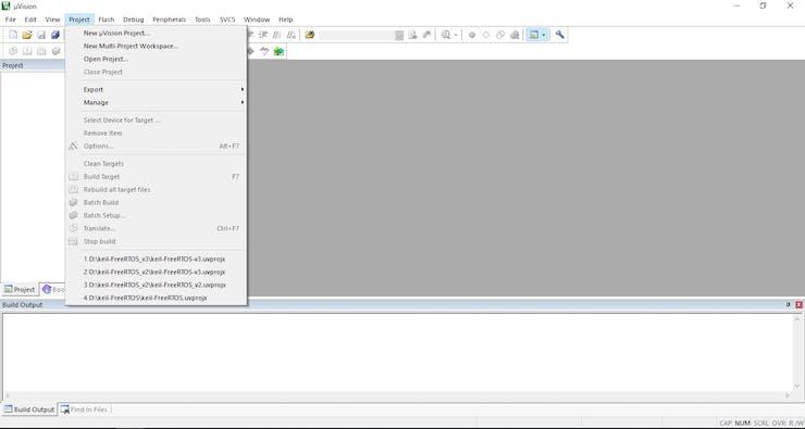 FreeRTOS on STM32F103C8T6 - Hackster io
