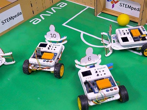 DIY Soccer Playing Mobile Robot