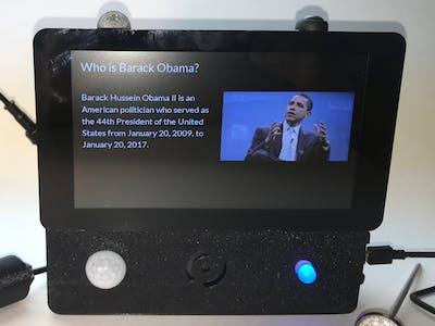 "Alexa-Enabled Touchscreen ""Tablet"""
