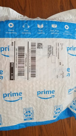 Shipped via Amazon Prime 2-Day delivery