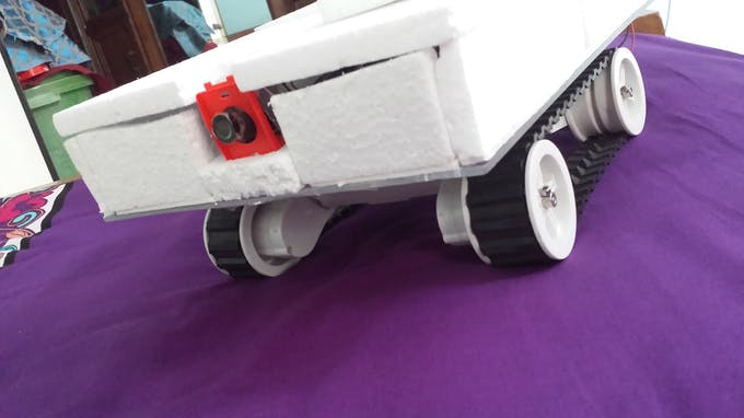 Gas sensing Robot
