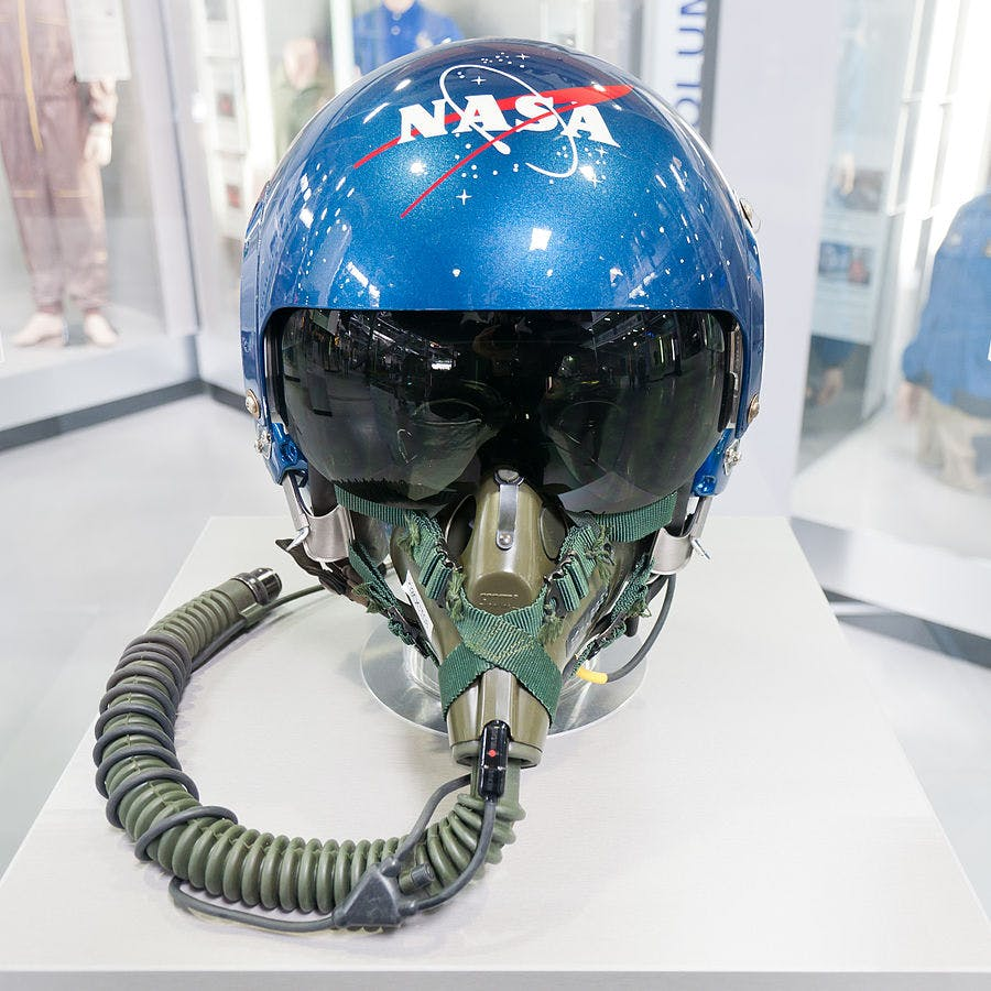 NASA helmet