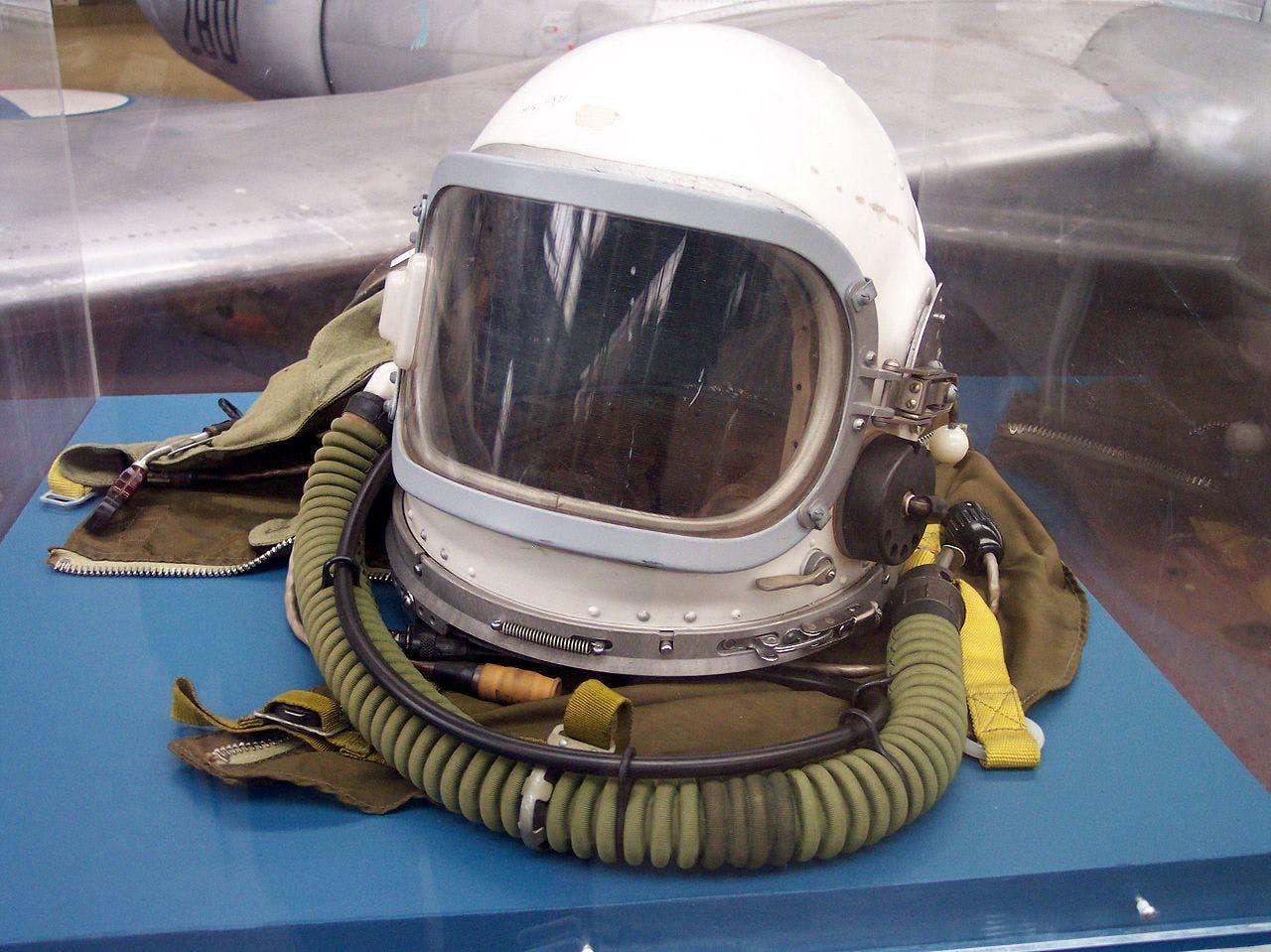 Soviet MiG-25 pilot helmet