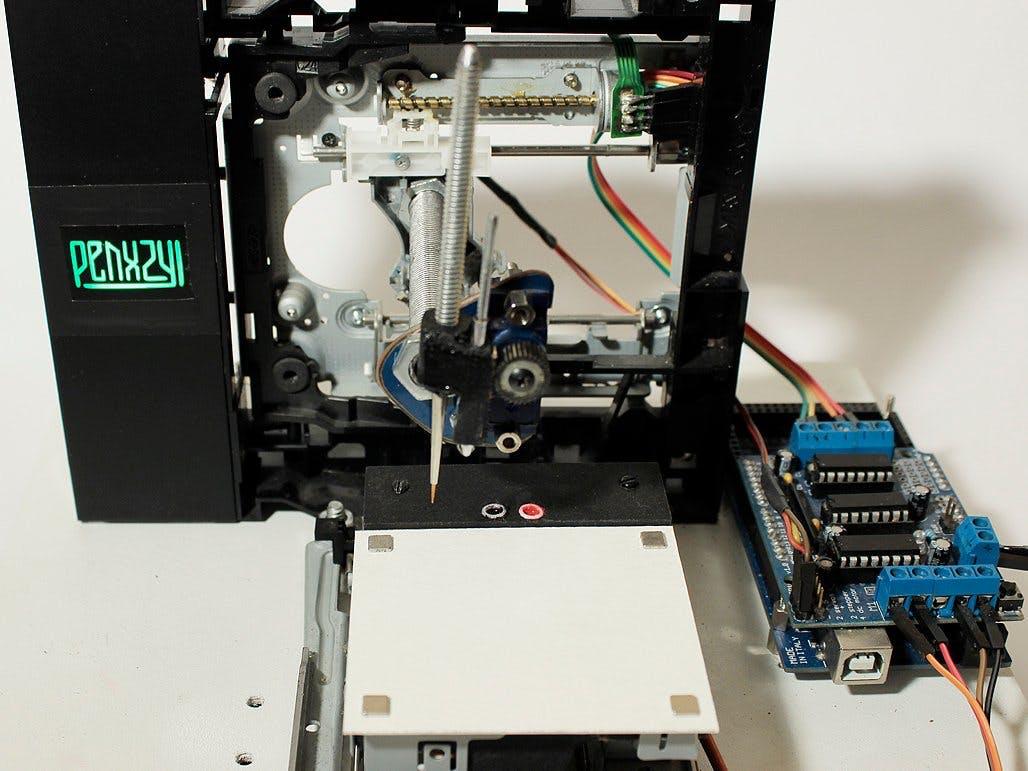PENXZYL 3.1: Arduino Brush Plotter (New and Improved) CNC