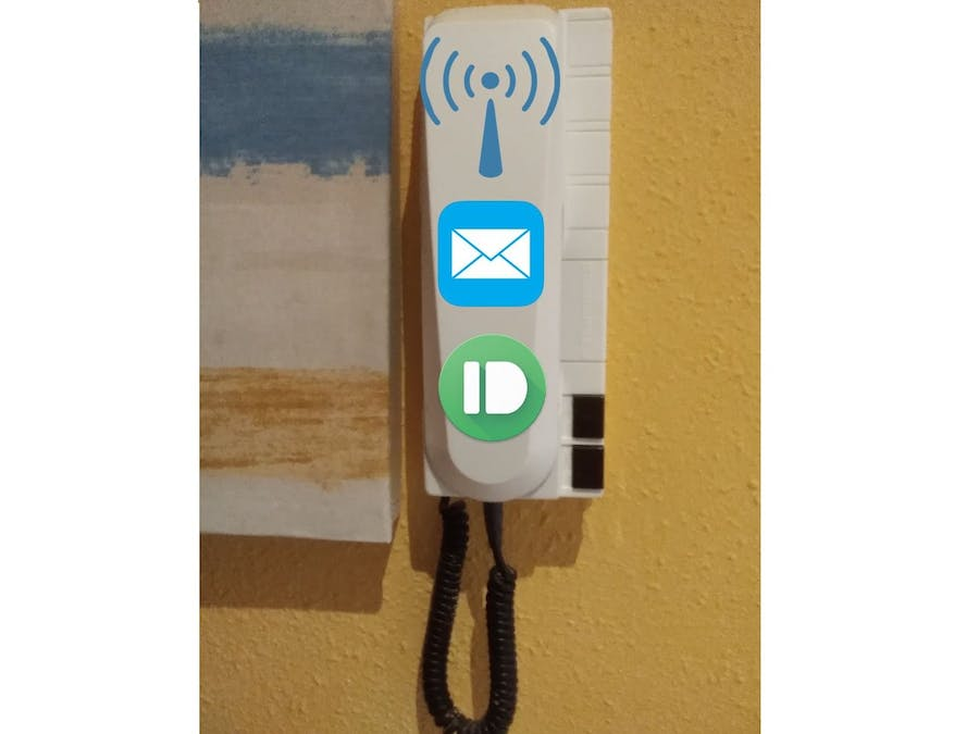 Wireless Doorbell Using Your Former One