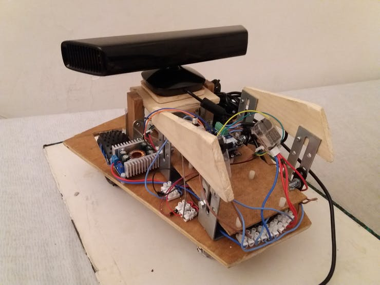Nox - A House Wandering Robot (ROS) - Hackster io