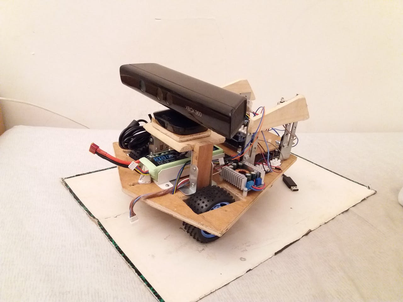 Nox - A House Wandering Robot (ROS) - Arduino Project Hub