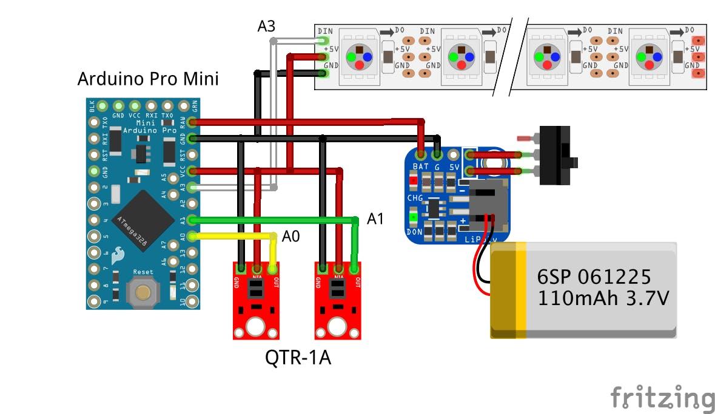 Eye Motion Tracking Using Infrared Sensor - Arduino Project Hub