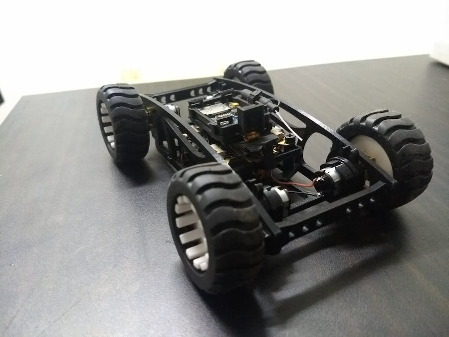 Obstacle avoidance using PlutoX Rover
