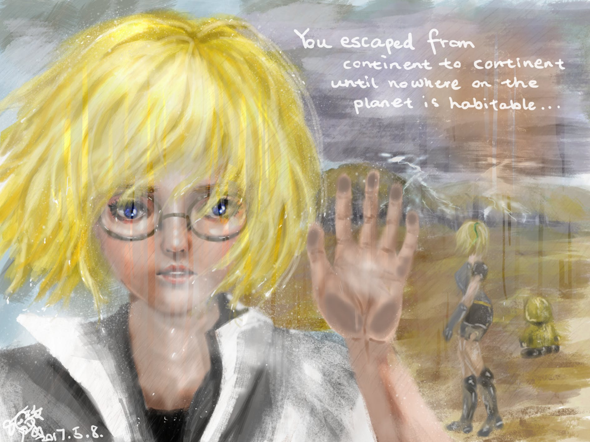 Graphic Novel on www.artbyphysicistkittyyeung.com