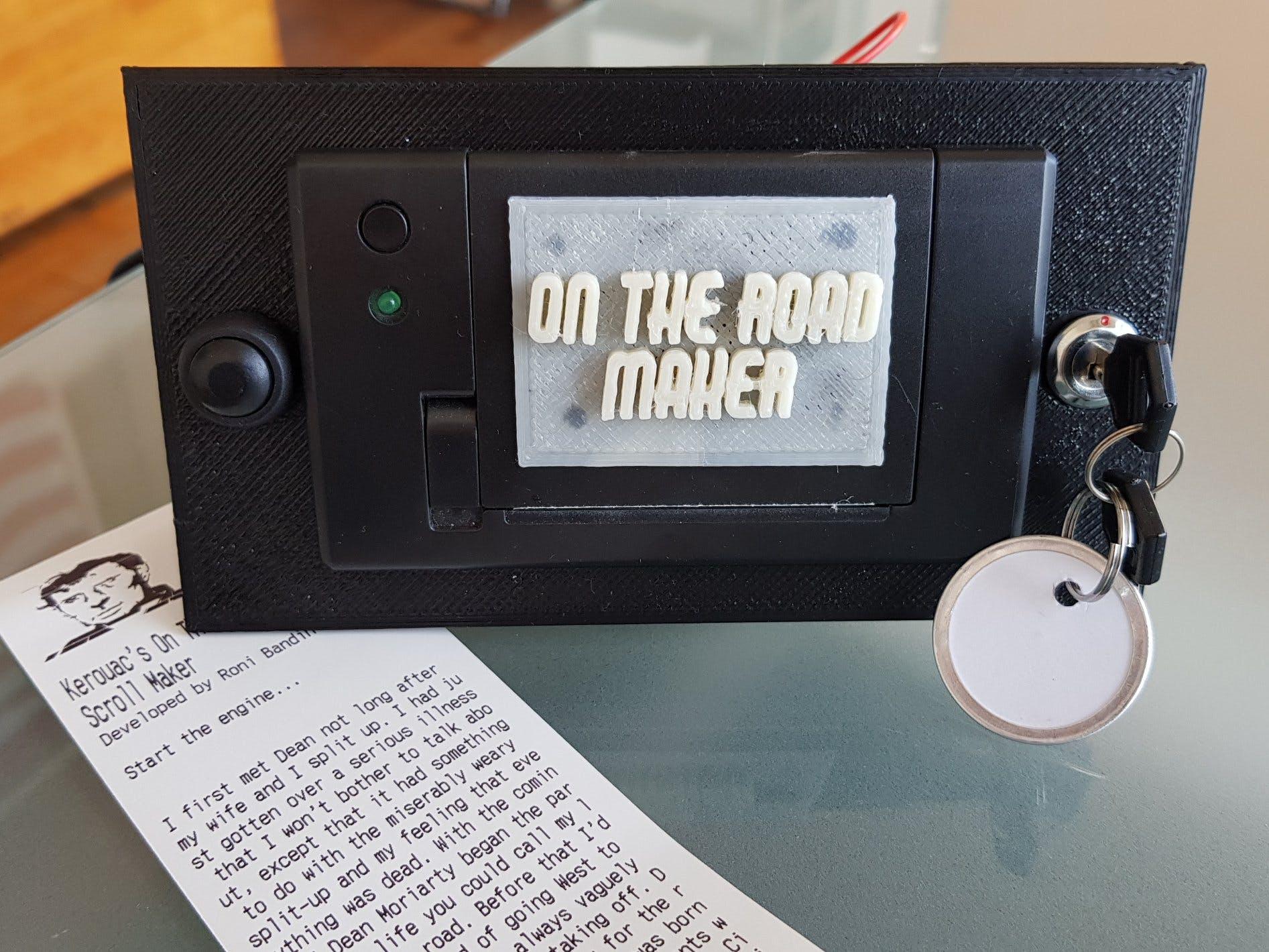 Jack Kerouac's On The Road Scroll Maker