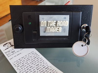 Jack Kerouac's On The Road Scroll Maker