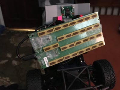Donkeybot: Add Depth + Distance to Donkey Car Using Walabot