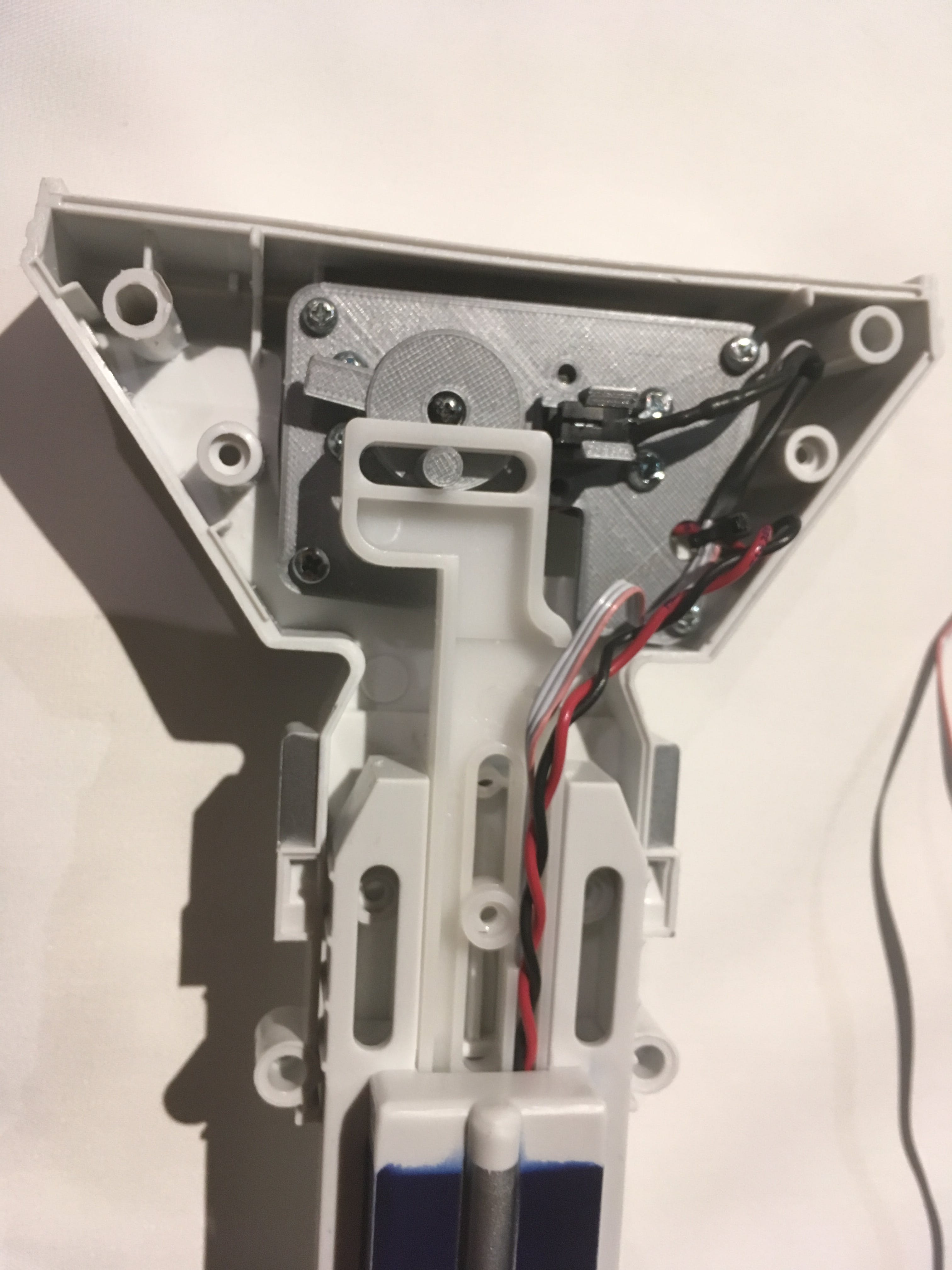 Bottom Leg CAM, Motor and Optical Switch Mount