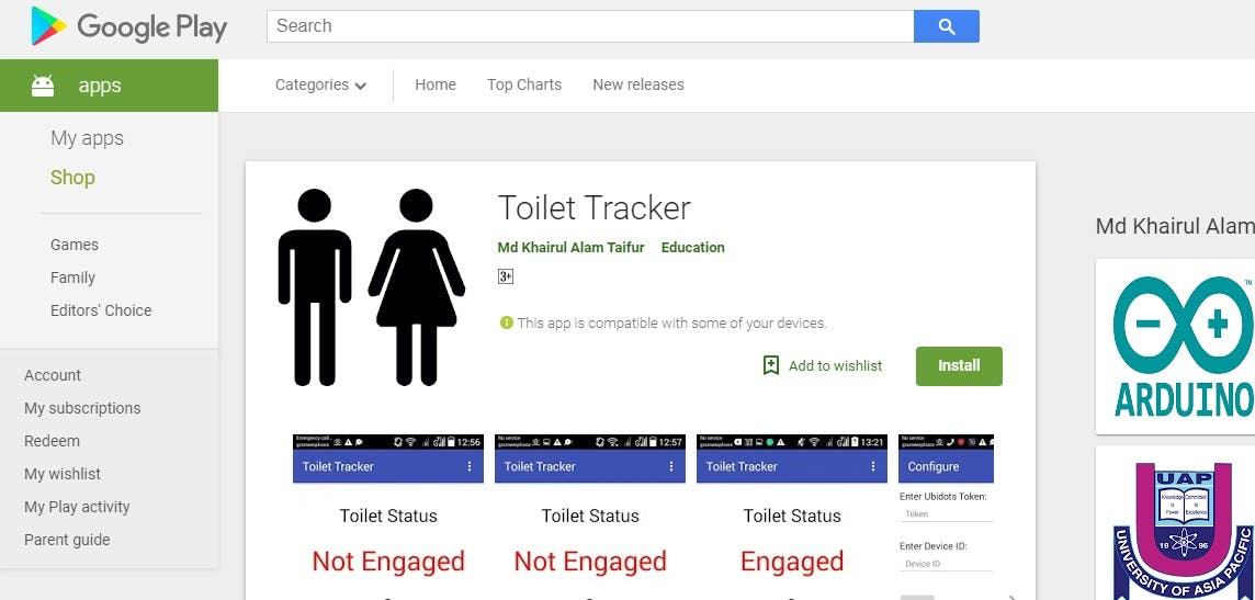 Toilet Tracker (Powered by Walabot) - Hackster.io