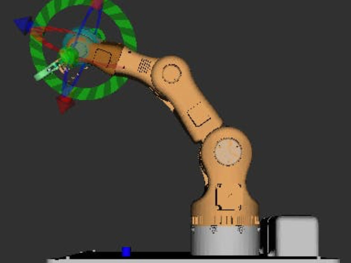 Robot Arm Using Arduino Mega and ROS