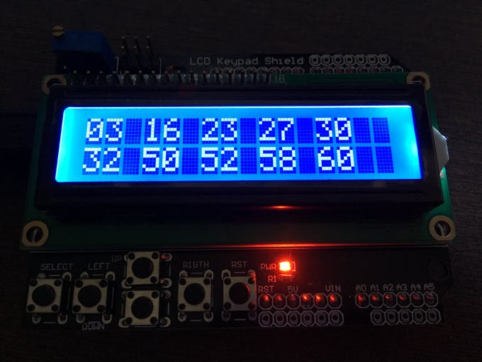 Lottery Winner: Non-Repeating Random Numbers for Arduino