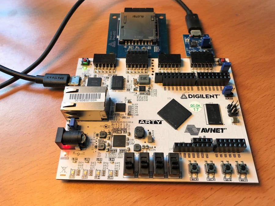 Running Embedded Lua on a Digilent Arty FPGA Board - Hackster io